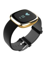 Discount P2 Bluetooth 4 Wristband Smart Watch Heart Rate Blood Pressure Monitor Waterproof Ip67 Sports Fitness Tracker Smart Bracelet For Android And Ios Gold And Black Intl Oem