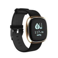 P2 Wristband Smart Watch Heart Rate Blood Pressure Monitor Bluetooth Ip67 Water Proof Sports Bracelet For Android And Ios Intl Free Shipping