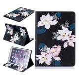 Painting Pu Leather Back Case Cover For Apple Ipad 2 3 4 Black Lily Intl Deal