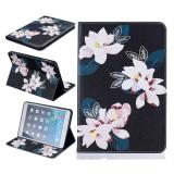Painting Pu Leather Back Case Cover For Apple Ipad Mini 1 2 3 Black Lily Intl Cheap