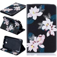 Top 10 Painting Pu Leather Back Case Cover For Samsung Galaxy Tab A 7 2016 T280 Black Lily Intl