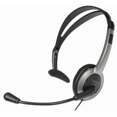 Panasonic Kx-Tca430 Black/gray Over The Head Headset With Volume Control By Bestdeals.