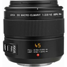 Wholesale Panasonic Leica Dg Macro Elmarit 45Mm F 2 8 Asph Mega O I S Lens Black