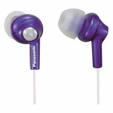 Panasonic RP-HJE270-V In-Ear Earbud Ergo-Fit Design Headphone RPHJE270