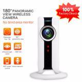 Review Panoramic Fisheye Lens Ip Camera Wifi Wireless Mini Surveillance Camera 180 Degree Hidden Ip Webcam Wi Fi 720P Ip Cam China