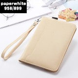 Buy Kindle Paperwhite3 Kpw3 Handheld All Inclusive Leather Cover Protective Case On China