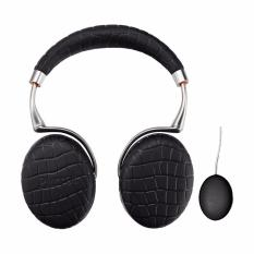 List Price Parrot Zik 3 Croc Bluetooth Headsets Black With Wireless Charger Parrot Zik