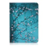 Pattern Printing Foldable Leather Wallet Case Cover For Samsung Galaxy Tab S2 9 7 T810 T815 Tree With Flowers Reviews