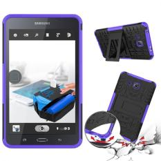 Where To Buy Pc Tpu Hybrid Armor Kickstand Case For Samsung Galaxy Tab A 7 2016 T280(Purple) Intl