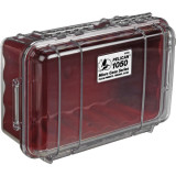 Sale Pelican 1050 Micro Case Clear Red Pelican On Singapore