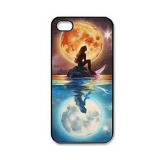 Great Deal Petrel Little Mermaid Printing Phone Case Cover For Iphone 5 5S Se Black Export