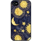 Review Petrel Sun And Moon Printing Phone Case Cover For Iphone 5 5S Se Black Export Petrel On United States