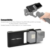 Pgytech Adapter Switch Mount Plate For Gopro Hero5 4 3 Camera For Dji Osmo Mobile Gimbal For Feiyutech Spg And Spg Live Gimbals For Zhiyun Smooth C Series Gimbals Intl Shopping
