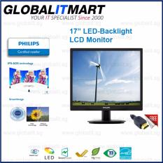 Best Reviews Of Philips 17 Phi 17S4Lsb Square 4 3 Led Monitor