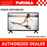 Sale Philips 43Pft4002 98 4000 Series Full Hd Ultra Slim Led Tv Online Singapore