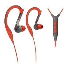 Get The Best Price For Philips Shq3217 98 Sports Ear Hook In Ear Headphones With Microphone Black Red