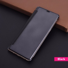Sale Phone Case For Samsung Galaxy Note 8 Flip Cover Luxury Clear View Mirror Hard Cases Oem Online