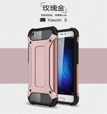 Phone Case Silicone Cover Shockproof Hard Tough Rubber Dual Layer Armor for Xiaomi Mi 5 (