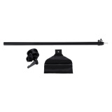 Cheap Photo Studio Overhead Boom Arm Top Light Stand 75 138Cm For Softbox Light Black