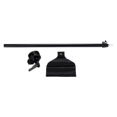 Low Price Photo Studio Overhead Boom Arm Top Light Stand 75 138Cm For Softbox Light Black