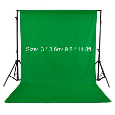 Photography Studio Video 3 X 3 6M 9 8 X 11 8Ft Nonwoven Fabric Backdrop Background Screen Green Best Price