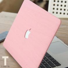 Pink Wood Design Macbook Hard Cover Case for 13 Pro Retina (A1502/A1425)