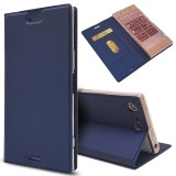 Discount Plain Fashion For Sony Xperia Xz Premium Cover Retro Business Magnetism Flip Leather With Card Pocket Kickstand Anti Knock Shockoof Phone Case Intl Maimoke Hong Kong Sar China