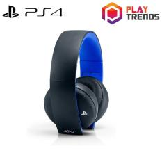 Shop For Playstation Gold Wireless Stereo Headset Jet Black