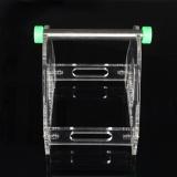 Pop 1 Spool Acrylic 3D Printer Filament Tabletop Mount Rack Abs Pla Frame Holder Clear Intl Oem Discount