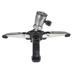 Promo Portable 1 4 Scr*W 3 Legs 3 Feet Tripod Monopod Unipod Base Stand Holder Support For Dslr Camera Black Intl