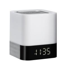 Buy Portable 5V Waterproof Wireless Bluetooth Speaker Led Lamp Alarm Clock Support Tf Card Intl Online
