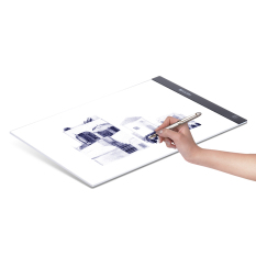 Portable A3 LED Light Box Drawing Tracing Tracer Copy Board Table Pad Panel Copyboard with Memory Function Stepless Brightness Control for Artist Animation Tattoo Sketching Architecture Calligraphy Stenciling Diamond Painting