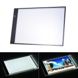 Cheaper Portable A4 Led Light Box Drawing Tracing Tracer Copy Board Table Pad Panel Copyboard With 3 Mode Brightness Black Edge Scale For Artist Animation Sketching Architecture Calligraphy Stenciling Intl