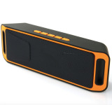 Portable Bluetooth Speaker Bass Tf Card Supported Orange Black Intl Oem Cheap On China