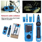 Review Portable Handheld Lan Telephone Network Cable Wire Line Tracker Tester Finder Intl On China