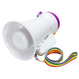 Retail Portable Handheld Megaphone Foldable 5W Loud Speaker Bullhorn Voice Amplifier Intl