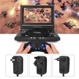 Buy Portable Hd 9 8 Lcd Screen Dvd Player Game Tv Player Fm Radio Receiver With Eu Plug Intl Oem Online