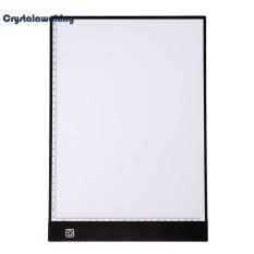Portable LED Draw Copy Board Pad Table Write Light Artcraft Digital Tablets(White)-dc - intl