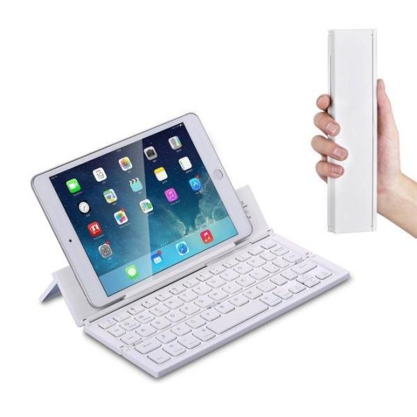 Portable Mini Wireless Foldable Bluetooth Keyboard For Windows Android IOS PC Singapore