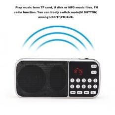 Portable Speaker Digital Audio Music Player Led Flashlight Support Fm Radio Tf Card Usb Aux Intl Cheap