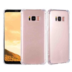 Portable TPU Phone Case Protector Shell Clear Back Cover for Samsung Galaxy S8 - intl