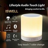Portable Waterproof Night Light With Bluetooth Speaker Portable Wireless Bluetooth Speaker Touch Control Color Led Bedside Table Lamp Speakerphone Tf Card Aux In Supported Iswell Intl Compare Prices