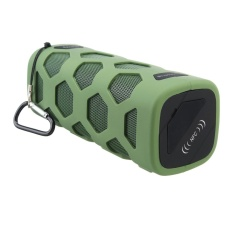 Review Portable Wireless Bluetooth Speaker Waterproof Shockproof Nfc Tone Bass Usb 10W Army Green Intl Not Specified
