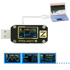 Power Z Usb Pd Qc3 Qc2 Tester Voltage Current Ripple Dual Type C Meter Km001 Intl Not Specified Discount