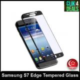 Discounted Premium S7 Edge Full Screen Hd Tempered Glass Black