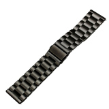 Review Premium Stainless Steel Metal Replacement Strap Wrist Band For Fitbit Blaze Smart Fitness Watch Black Thinch
