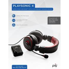 Sale Prif Playsonic 4 Amplified Headset With Mixer Ps4 Ps3 Xboxone Pc Online Singapore