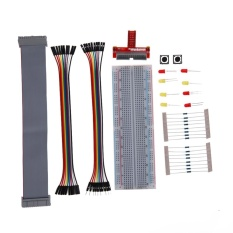 Primer External Expansion Bread Board Jumper Wire Kit For Raspberry Pi 3 - Intl By Crystalawaking.