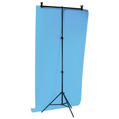 Professional Metal 200*200cm Pvc Backdrop Support Background Photography Stand Tripod With 3-Segment Crossbar By Lands.