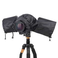 Professional Rain Cover Camera Raincoat Protector For Canon Nikon Pentax Sony Panasonic Olympus Tamron Dslr Accessories - Intl By Stoneky.